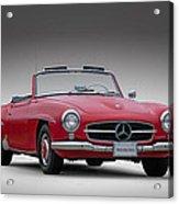 Mercedes-benz 190 Sl Acrylic Print