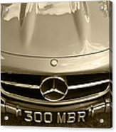 Mercedes Benz 300 Sl Roadster 1957 Acrylic Print