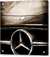 Mercedes-benz Grille Emblem Acrylic Print