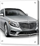 Mercedes-benz S550 4matic Luxury Car Acrylic Print