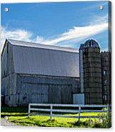 Mercer County Barn Acrylic Print