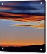 Mercury At Sunset Acrylic Print