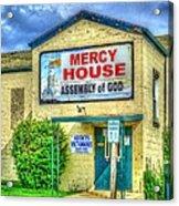 Mercy? Acrylic Print