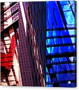 Merged - City Blues Acrylic Print