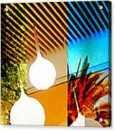 Merged - Slatted Acrylic Print by Jon Berry OsoPorto