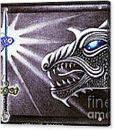 Merlin's Dragon Acrylic Print