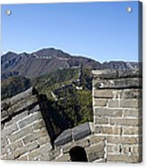 Merlon View From The Great Wall 726 Acrylic Print