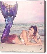 Mermaid Harmony Acrylic Print