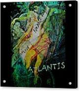 Mermaid Love Spell Acrylic Print