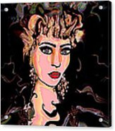 Mermaid Acrylic Print by Natalie Holland