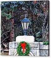 Merry Christmas From Boise Idaho Acrylic Print