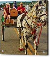 Merry Christmas Hatteras Nc 2 12/213 Acrylic Print