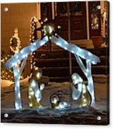 Merry Christmas - Peace On Earth Acrylic Print