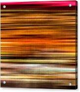 Merry Go Round Abstract Acrylic Print