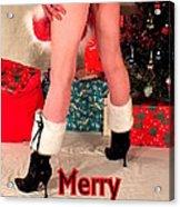 Merry Kissmyass Acrylic Print