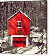 Merry Red Acrylic Print