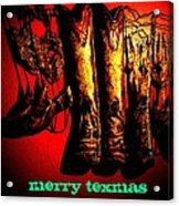 Merry Texmas Acrylic Print