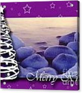 Merry Xmas Acrylic Print