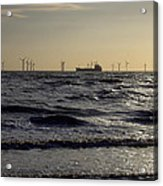 Mersey Tanker Acrylic Print