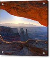 Mesa Arch Canyonlands National Park Acrylic Print