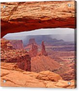 Mesa Arch In Canyonlands National Park Acrylic Print