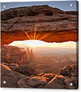 Mesa Arch Morning Acrylic Print by Andrew Soundarajan