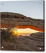 Mesa Arch Sunrise 3 - Canyonlands National Park - Moab Utah Acrylic Print