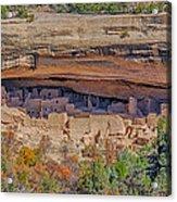 Mesa Verde Cliff Dwelling Acrylic Print