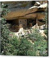 Mesa Verde Cliff Dwellings  Acrylic Print