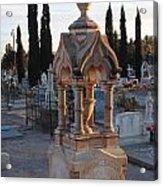 Mesilla Nm Cemetery 26 Acrylic Print