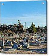 Mesilla Nm Cemetery 3   Acrylic Print