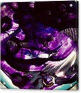 Mesmerize Purple Acrylic Print