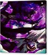 Mesmerize Purple II Acrylic Print