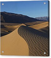 Mesquite Dunes Death Valley 1 Acrylic Print