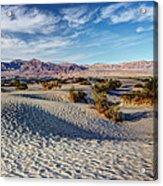 Mesquite Flat Dunes Acrylic Print