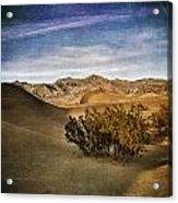 Mesquite Flat Sand Dunes Death Valley Img 0080 Acrylic Print