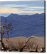 Mesquite Flat Sand Dunes Stovepipe Wells Death Valley Acrylic Print