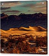 Mesquite Flat Sunrise Acrylic Print