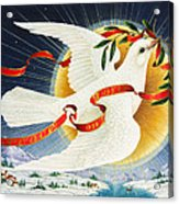 Messenger Of Peace Acrylic Print