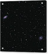 Messier 88 And Messier 91 Acrylic Print