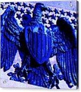 Metal American Eagle Symbol Acrylic Print