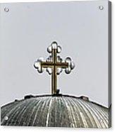 Metal Cross Acrylic Print