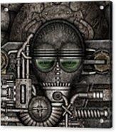Metal Mask Acrylic Print