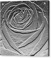 Metal Rose Acrylic Print