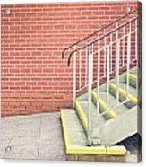 Metal Stairs Acrylic Print