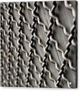 Metal Texture Forms Acrylic Print
