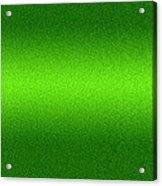 Metal Texture Green Background Acrylic Print