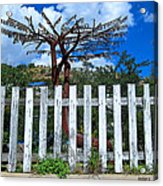 Metal Art Tree Bisbee Acrylic Print