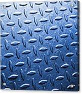 Metallic Floor Acrylic Print