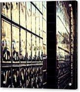Metallic Reflections Acrylic Print